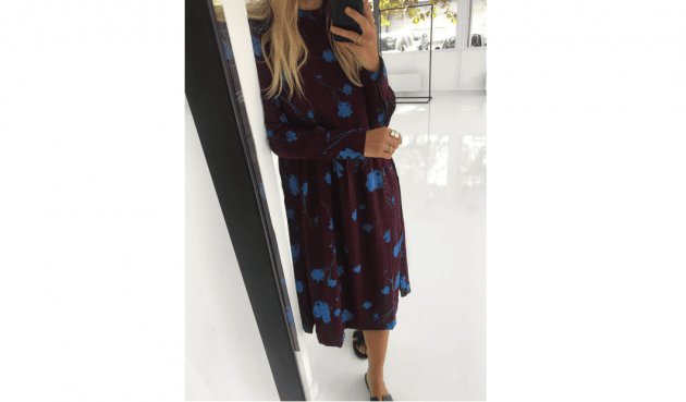 Flot kjole – også til vinter