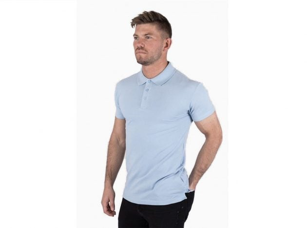 Muscle polo t-shirt