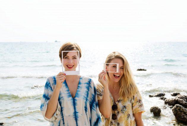 two girls friends