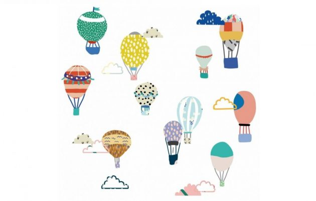 Luftballon wallstickers