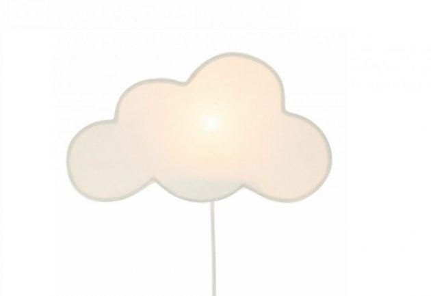 Lampe formet som en sky