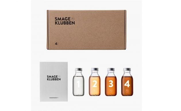 Mixkassen – forskellig premium spiritus