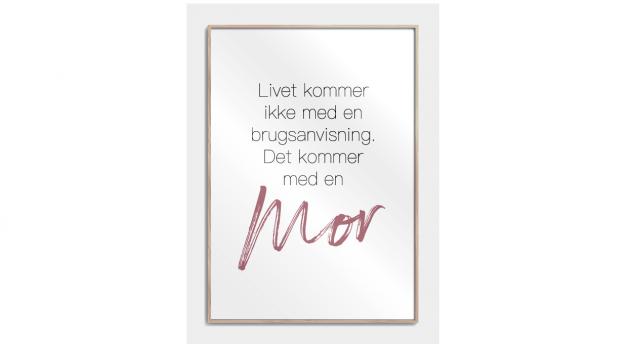 Plakat til mor