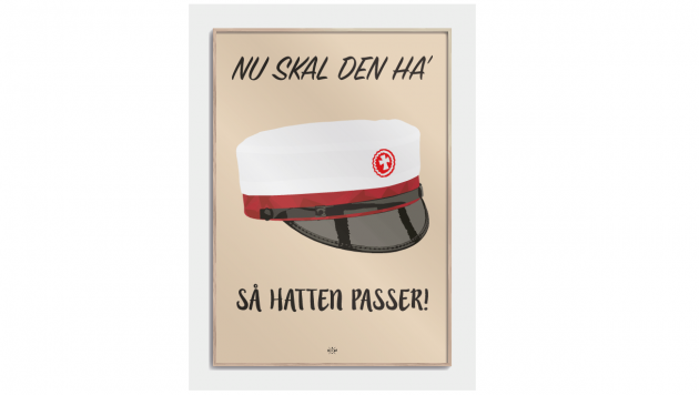Plakat til student