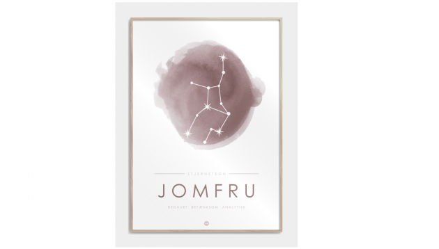 Plakat med stjernetegn