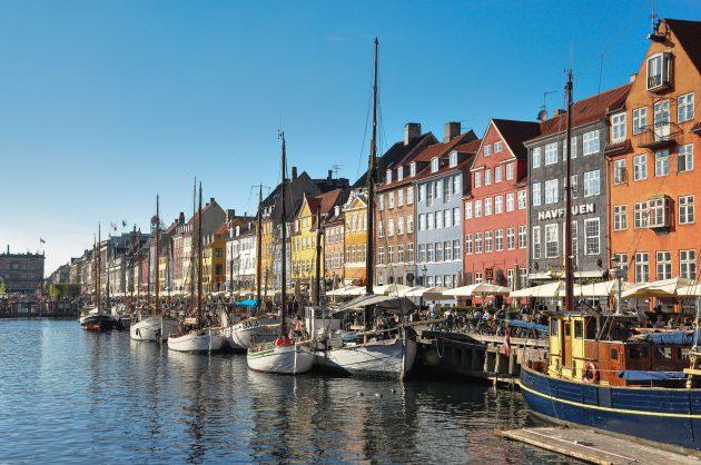 huse og havn i København