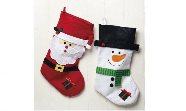 Julesok formet som julemand eller snemand