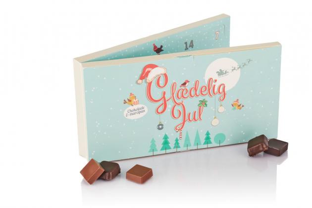 Chokolade og marcipan julekalender