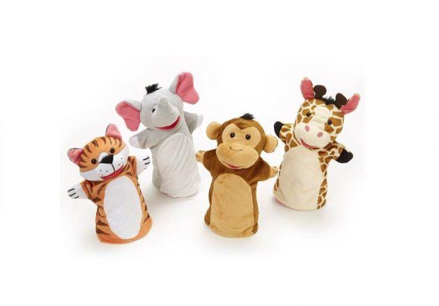 Zoo hånddukker