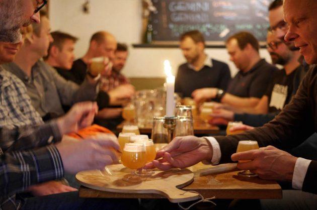 Ølsmagning hos Ølsnedkeren