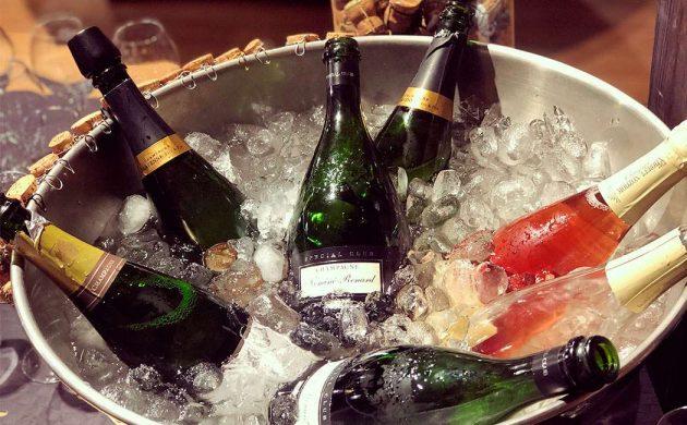 Champagnesmagning hos Champagne Guru