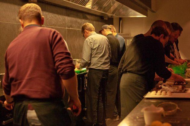 Kokkeskole på Nymindegab Kro