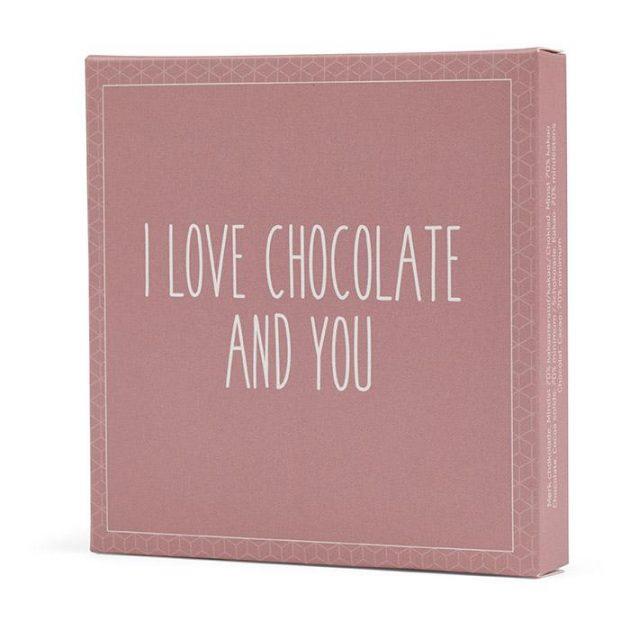 Send lækkert chokolade