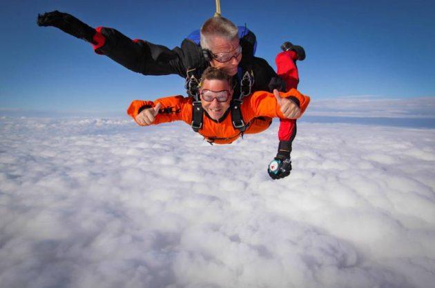 Tandemspring med Skydive Viborg