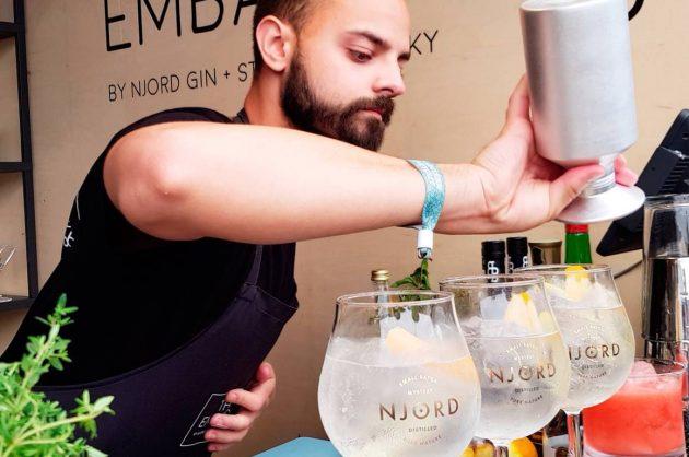 Ginsmagning hos Njord Gin Distillery