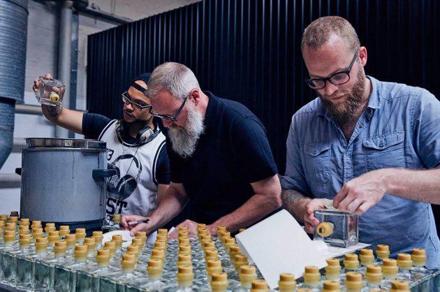 Ginsmagning hos Copenhagen Distillery