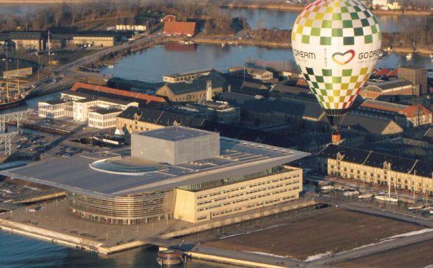 VIP-ballontur over København