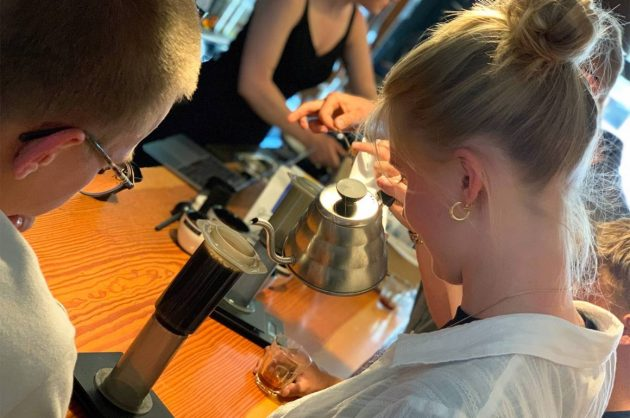 Kursus i sort kaffe hos Street Coffee