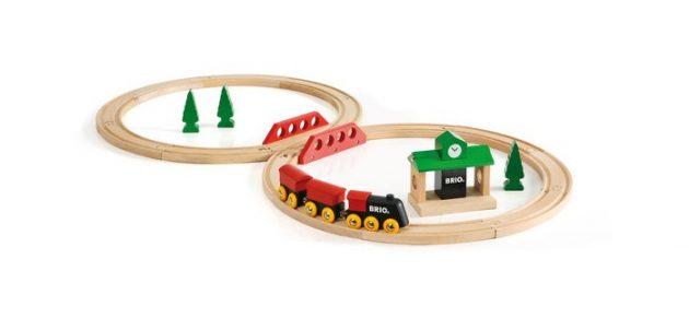 Min første togbane