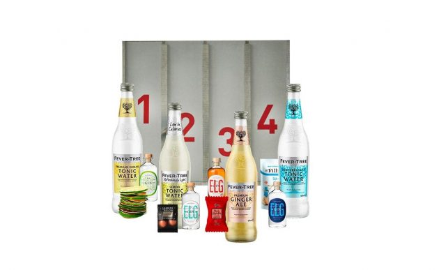 Adventskalender med gin og fever-tree tonic
