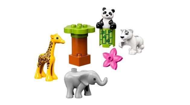 LEGO dyreunger