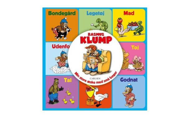 Rasmus Klump – Min store æske med små bøger