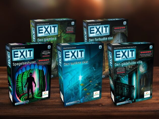 Exit game: escape room derhjemme